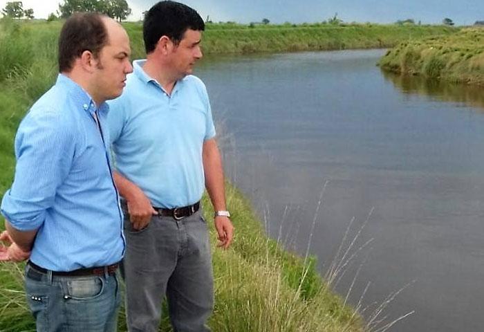Los Zurro preocupados por la situación hídrica