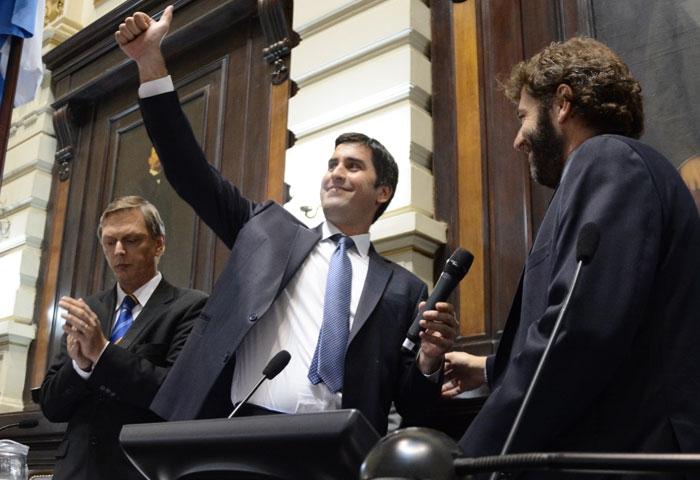 Manuel Mosca nuevo presidente de Diputados