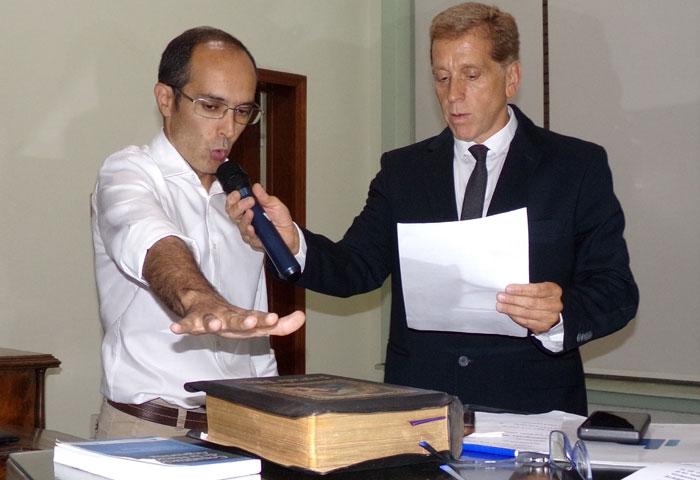 Marcos Pisano juró como intendente
