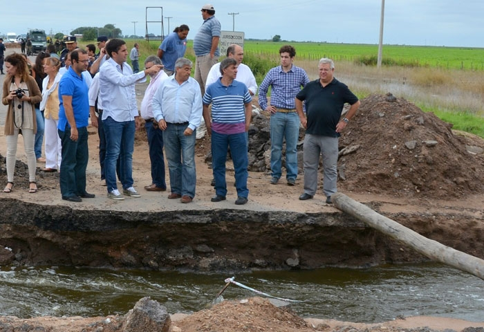 Mosca participa de importantes decisiones hídricas