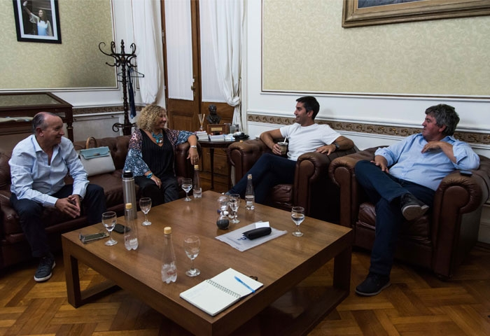 Mosca se reunió con Criado, Patti y Alzueta