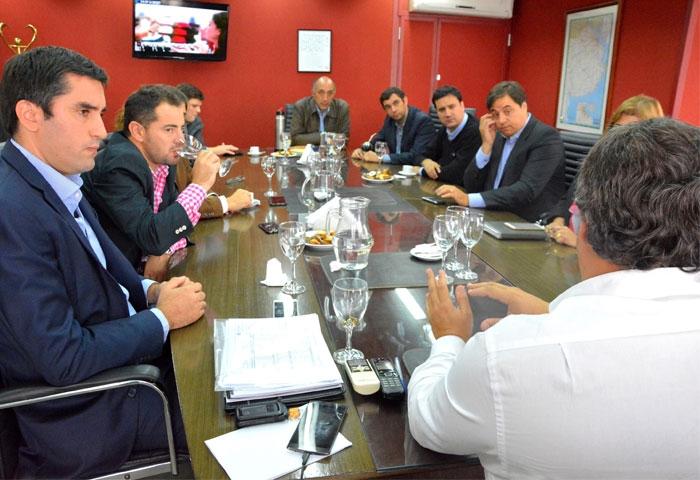 Mosca se reunió con López Medrano
