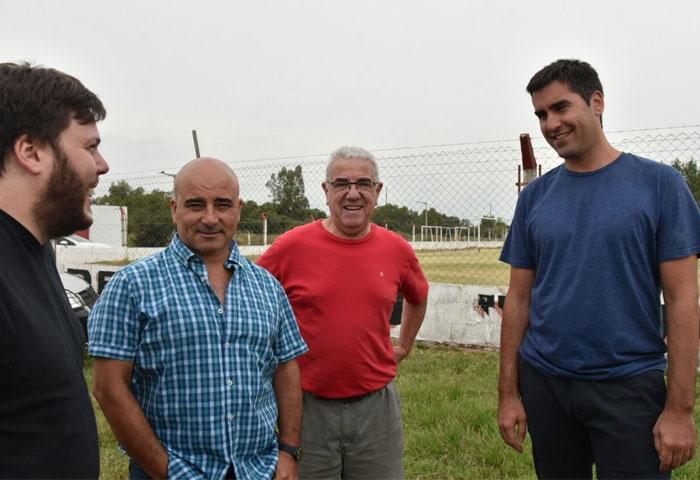 Mosca visitó instituciones deportivas en Bolívar