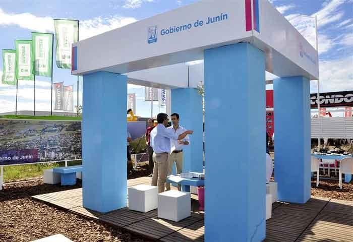 Petrecca muestra a Junín al mundo en Expoagro