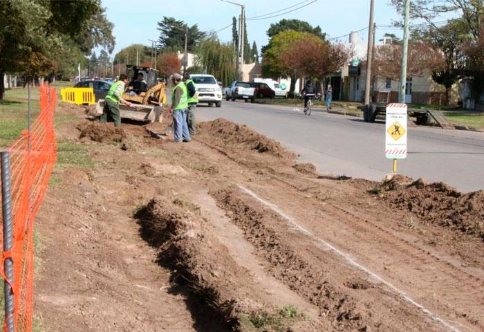 Pisano anunció mejoras en la avenida Calfucurá