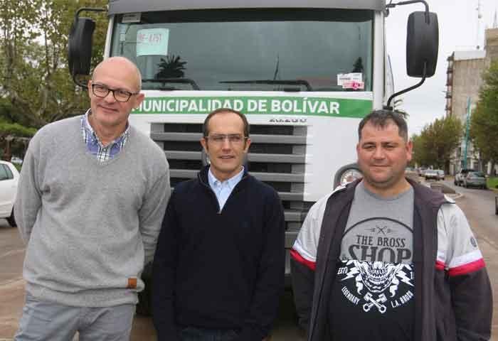 Pisano presentó el nuevo camión desobsturador