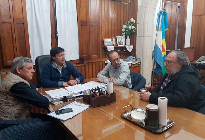 Pisano se reunió con Cortés y Acerbo