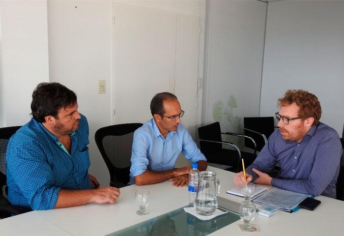 Pisano se reunió con el director del OPDS