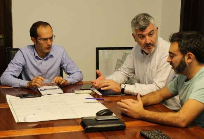 Pisano se reunió con representantes de Camuzzi