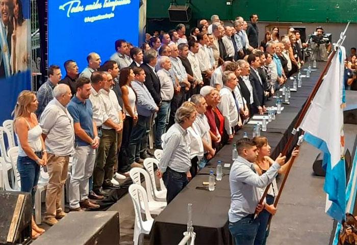 Ralinqueo participó del congreso nacional del PJ