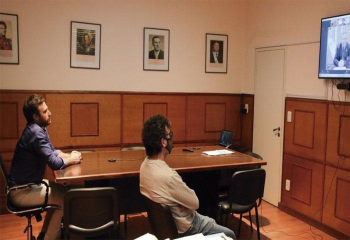 Ralinqueo se reunió con el ministro Bauer