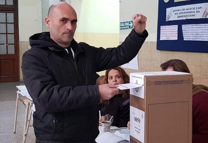 Reguero votó en el IJS