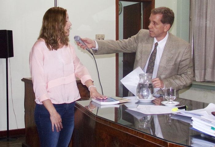 Rocío González juró como concejal