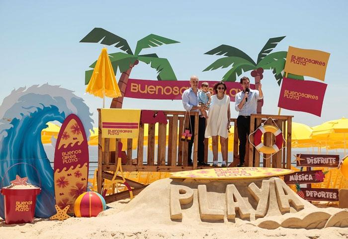 Rodríguez Larreta presentó Buenos Aires Playa