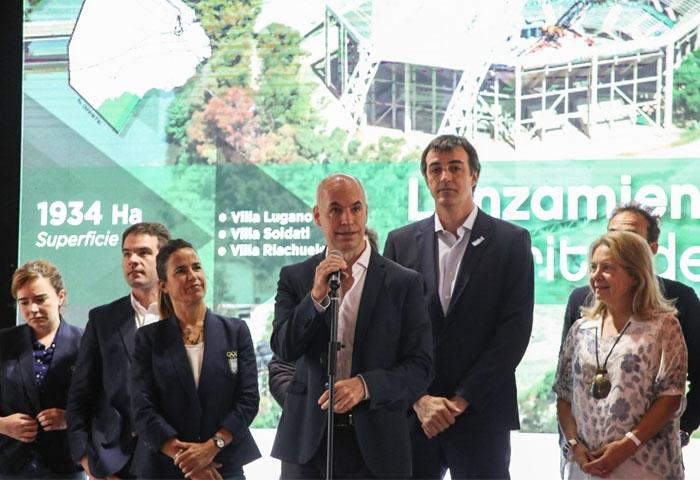 Rodríguez Larreta presetó el distrito del deporte
