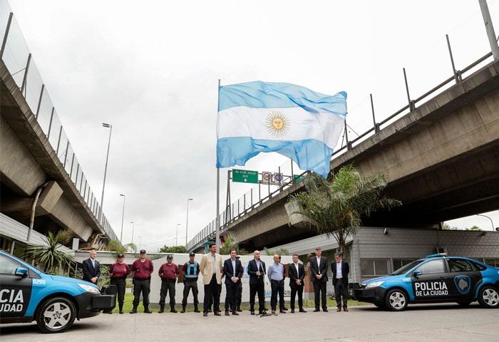 Rodríguez Larreta visitó la Comisaría 30