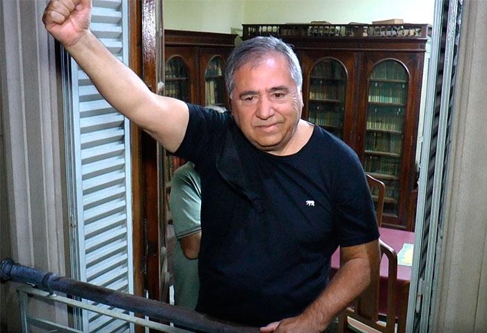 Salazar asumió la presidencia del Comité UCR