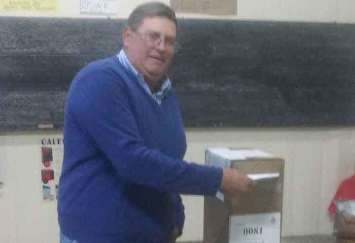 Umpiérrez votó en Ibarra