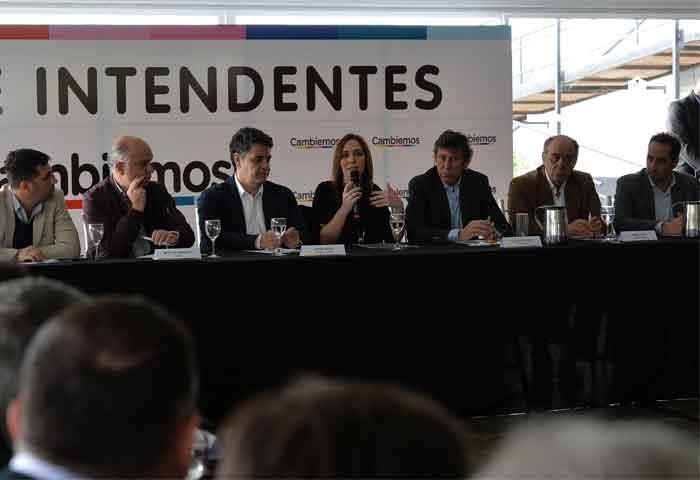 Vidal juntó a intendentes bonaerenses de Cambiemos