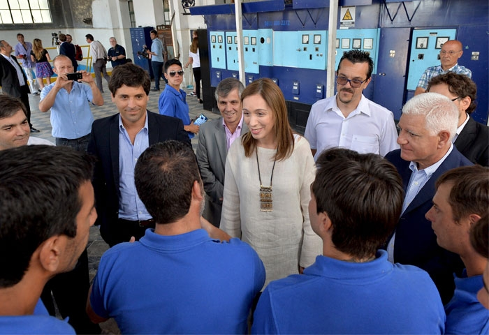 Vidal visitó Chivilcoy y Chacabuco