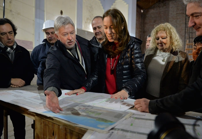 Vidal visitó Patagones, Rosales y Bahía Blanca