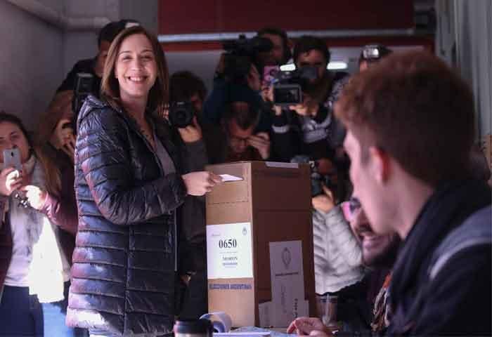 Vidal votó en Castelar