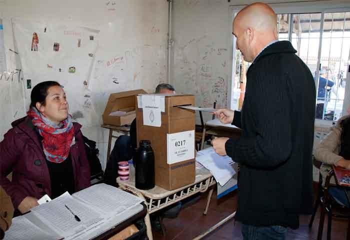Votó Eduardo Rodríguez
