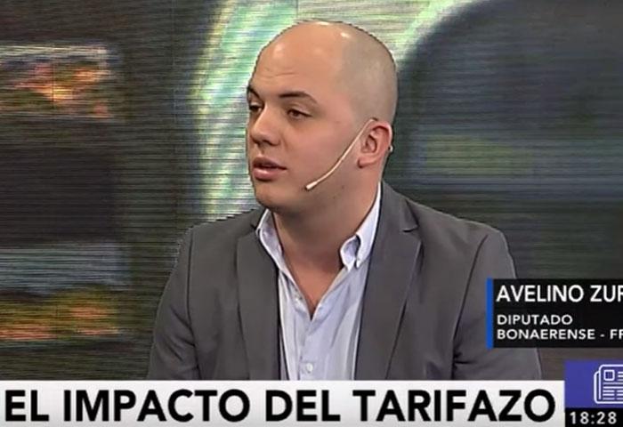 Zurro habló del aumento de gas con Víctor Hugo